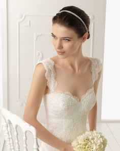 Sweetheart bust line wedding dresses with wide lace straps can be made to order with any custom changes you need by our American dress design firm. We can also make replicas of any #weddingdresses based on a picture.   Contact us directly for more info and pricing.