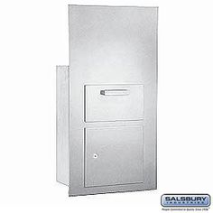 Collection Unit For 7 Door High Mailbox Units Aluminum Front Loading Private Access With Keys Commercial Mailboxes, 2 Keys, Filing Cabinet, Locker Storage, The Unit, Doors, Business, Collection, Store