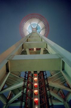 Under the Space Needle - 1962 Seattle World's Fair by The Pie Shops, via Flickr