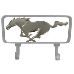 Ford Mustang Horse Cast Iron Wall Hook