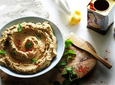 Smoky Grilled Eggplant Hummus | 26 Comfort Foods That Are Even Better When You Add Veggies