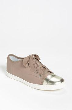 Lanvin Cap Toe Sneaker   Nordstrom