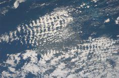 Waffle clouds over Ireland.  Taken June 23, 2013.  KN from space.