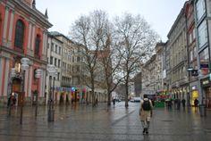 munich city center, germany.