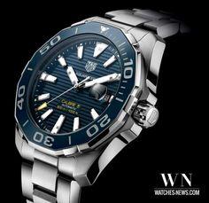 www.watches-news.com TAG Heuer Aquaracer 300 Mètres Céramique (43mm) Calibre 5 Automatique