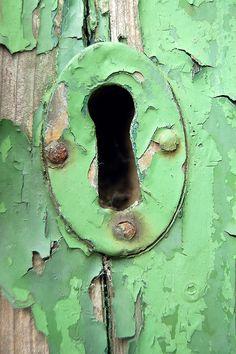 Door detail, Stromness, Orkney, Scotland