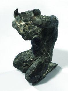 Crouching Minotaur by Nicola Hicks
