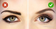 Big eyes look more attractive but we all are not blessed with these beautiful eyes. This article will share some makeup tricks for bigger eyes. Makeup Tricks, Makeup Ideas, Eye Liner Tricks, Makeup Tutorials, Make Up Anleitung, Makeup Techniques, Tips Belleza, How To Apply Makeup, Beauty Routines