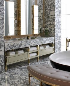 Marble EVERYWHERE.
