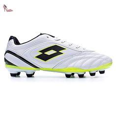 1467bb730 Stadio Potenza VI 300 FG Chaussures de football homme pour terrain sec -  Blanc - Blanc