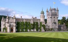 Balmoral slott, Skottland