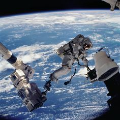 Launched on October 7, 2002, Space Shuttle Mission STS-112 traveled to the International Space Station