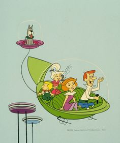 The Jetsons publicity photo, 1985