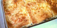 Σπανάκι ογκρατέν με μπέικον, τυρί και ψωμί του τοστ