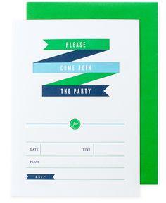 party invite | pei design