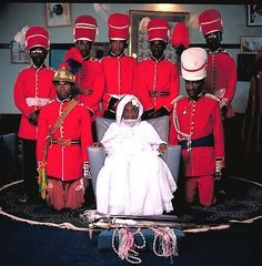 el Hadji Mamadou Kabir Usman, Emir of Katsina (Nigeria) - photo by Daniel Laine