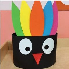 Turkey craft idea for kids | Crafts and Worksheets for Preschool,Toddler and Kindergarten