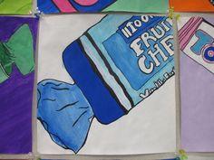 Primary School Art, Elementary Art, Art School, School Stuff, School Ideas, Painting Lessons, Art Lessons, Art Classroom, Classroom Ideas
