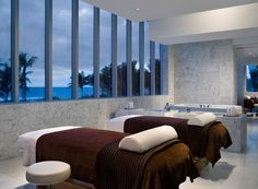 From The Miami Beach Edition to the Biltmore, scroll through our list of Miami's best luxury spas and book your next life detox, stat. Miami Beach Edition, Best Spa, Spa Design, Design Ideas, Massage Room, Luxury Spa, Hotel Spa, Spas, Vox Media