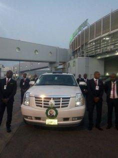 Former Vice President Alex Ekwuemes Body Arrives Nigeria for Burial