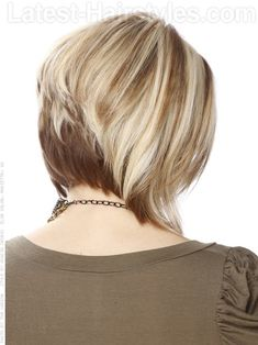 Medium Blonde Bob - Stacked - View 2