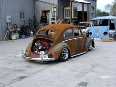 VW Beetle Lowrider Rat Rod
