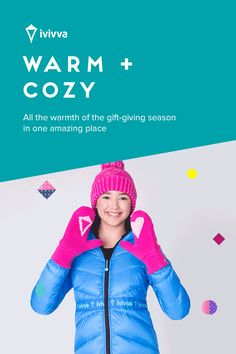 Warm + cozy guide gift. | All the warmth of the gift-giving season in one amazing place.