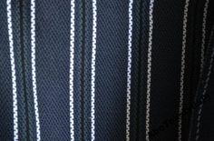 Kup teraz na allegro.pl za 4,80 zł - Masywna, grubo pleciona, granatowa bawełna w pasy (6203320041). Allegro.pl - Radość zakupów i bezpieczeństwo dzięki Programowi Ochrony Kupujących!