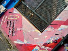 Meeting of Styles 2011 en Mercado de las Pulgas, Buenos Aires. Mural combinado