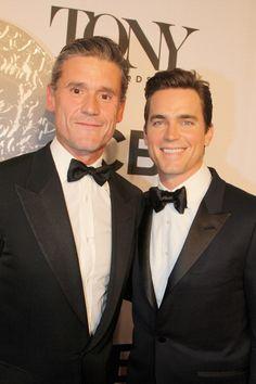 Simon Hall and Matt Bomer attend the American Theatre Wing's 68th Annual Tony Awards