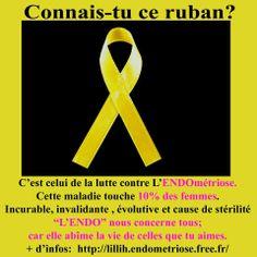 ruban jaune endométriose