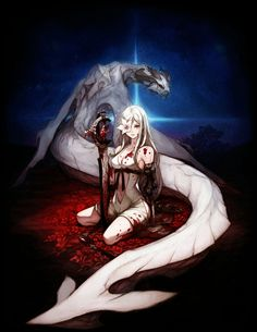 Zero & Mikhail - Characters & Art - Drakengard 3