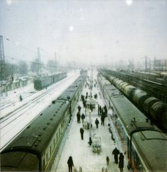 Trans-Siberian Railroad. January 2012. I'd like to travel on this line in winter.