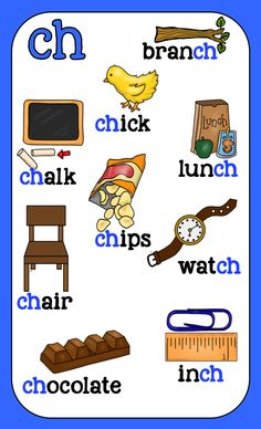 Digraph posters 8.5x14.  Bright, crisp colors and artwork