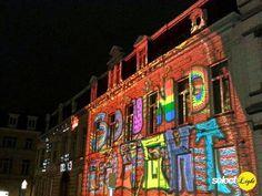 La ciudad belga de Gante resplandeció por tercer año  gracias a su Festival de la Luz que se celebró del 29 de enero hasta el 1 de febrero coincidiendo con el inicio del IYL2015 AIL2015. Los estudiantes mostraron  sus experimentos con la luz y la Ghent University  creó una ruta interactiva con instalaciones de luz en diversos edificios. Un paseo para disfrutar de la sorprendente variedad de creaciones de luz.