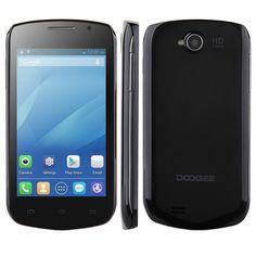 DOOGEE COLLO3 DG110 Smartphone MTK6572W Android 4.2 4.0 Inch 3G GPS 1GB RAM 4GB- Black