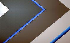 Lataa kuva materiaali suunnittelu, android, geometrinen tausta, abstraktio, harmaa, siniset viivat