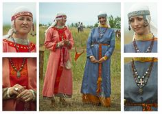 Medieval Slavic costume of Ancient Russia: Dregovichi?