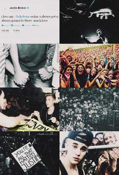 He truly loves you guys... <3 BELIEBERS ARE HIS EVERY THING RIGHT NOW
