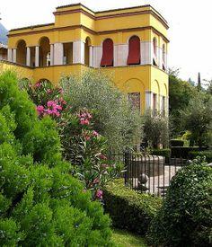 Il Vittoriale Degli Italiani - Gordone Riviera, Lake Garda, Italy