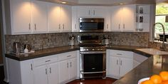 DIY Concrete Counter Tops - Level Quick concrete poured right over existing tile cabinet tops
