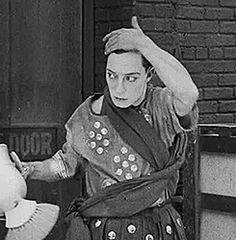 How can you not love Buster Keaton?