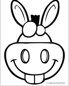 Pin von Muse Printables auf Mask Templates at MaskSpot.com