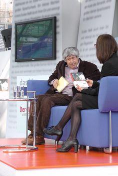 Ivan Klima auf dem Blauen Sofa bei der  Leipziger Buchmesse 2012