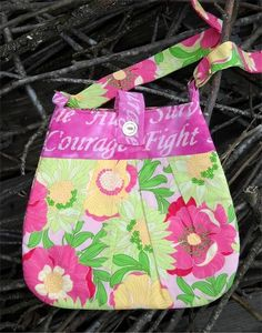 FIGHT LIKE A GIRL Breast Cancer Awareness Pink Batik by Hamncheezr on etsy.