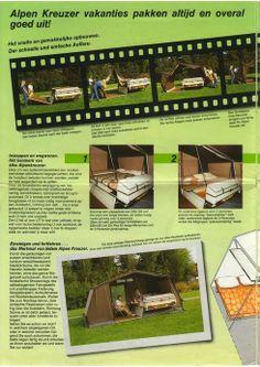 Handleiding Super GT Caravan, Canvas Tent, Camping, Vintage, Alps, Canvas Bell Tent, Campsite, Vintage Comics, Campers
