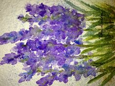Watercolor by Tisha Sheldon, playing with paper, Shizen professional Grade Watercolor Paper. This paper works great for loose work.