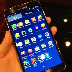 Hands On With the Samsung Galaxy Note 3