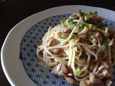 ツナと納豆のスパゲッティ