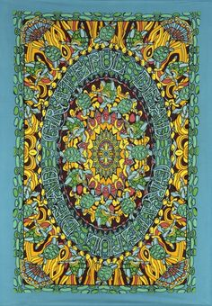Mini Terrapin Dance Tapestry http://thegratefulshed.com/product/gd-mini-terrapin-dance-60x90/